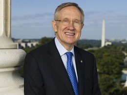 Harry Reid, Majority Leader of the Senate.Democrat During the 2013 government shut down he refused to allow any resolutions to be brought to the floor of the Senate even though members approved of individual resolutions.