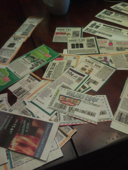Coupons are $$$ from product manufacturers, don't throw this away!