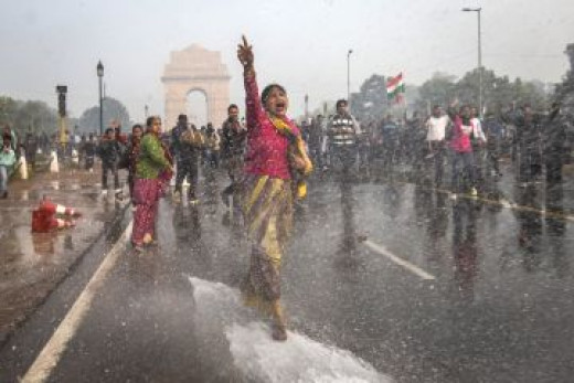 Protests for punishment of the rapists of Delhi Gang-Rape Case of 2012