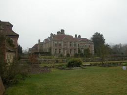 Heale House where the spirit of Mrs Bell is said to have roamed looking for her portrait.