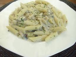 Chicken Pasta With White Sauce
