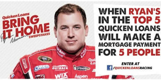 SHR worked for a year to bring sponsor Quicken Loans on board. They likely will not remain after the departure of Newman, someone they've spent ad dollars to support