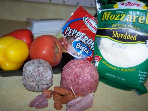 some of my ingredients, I usually also have Black Oliver to add.