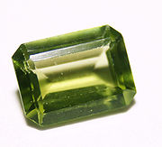 Olive Green Peridot..The birthstone for August