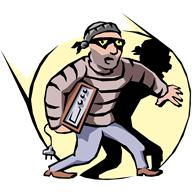 They are all thieves whether they wear a striped jumper or a flash suit
