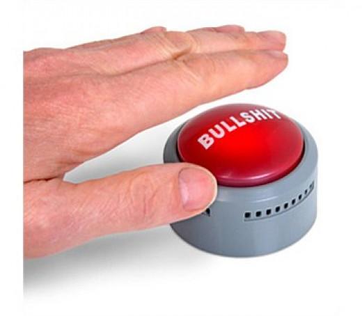 Bullshit Button Detector - $14.95