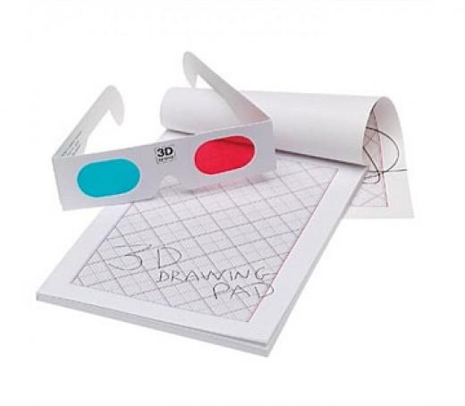 3D Notepad, $9.95