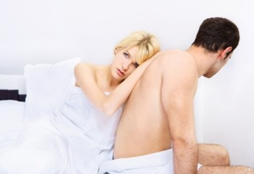Don't expect sex when your girlfriend or wife is in a bad mood.