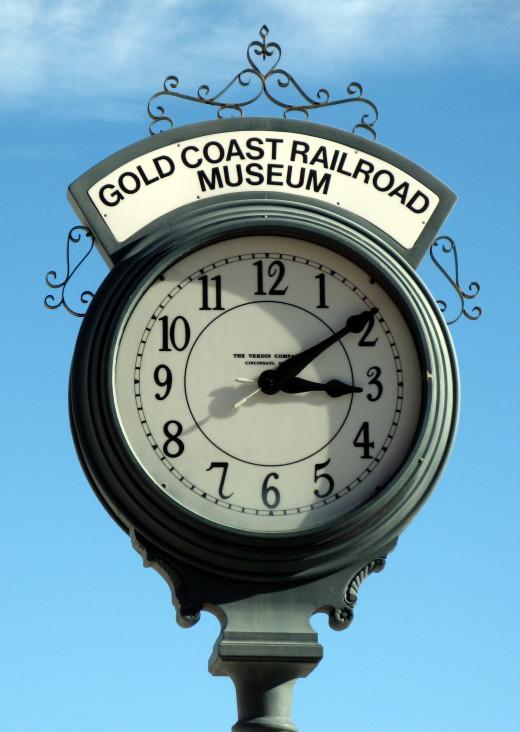 Cold Coast Railroad Museum Watch