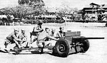 Antitank crew of Scouts prior to WWII.