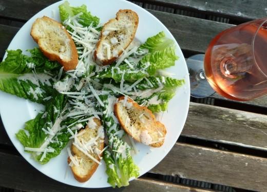 Simple and easy Caesar Salad