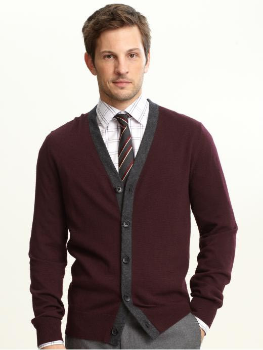 Cardigan with tie
