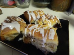 CINNAMON ROLLS  ~~ With a Twist