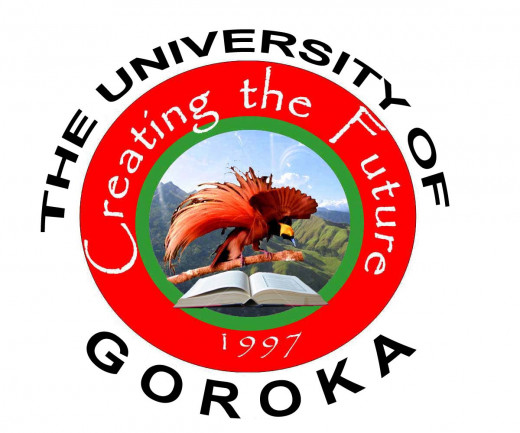 Official Logo of the University of Goroka, Papua New Guinea
