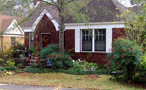 Hillary Rodham and Bill Clinton lived in this 980 square foot house in the Hillcrest neighborhood of Little Rock from 1977 to 1979 while he was Arkansas Attorney General.