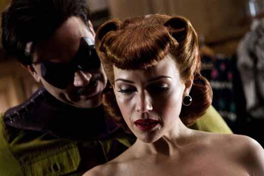 Carla Gugino as Sally Jupiter in Watchmen