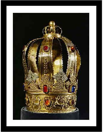 Torah Scroll Crown