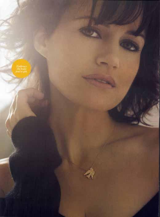 Carla Gugino from Women's Health Magazine
