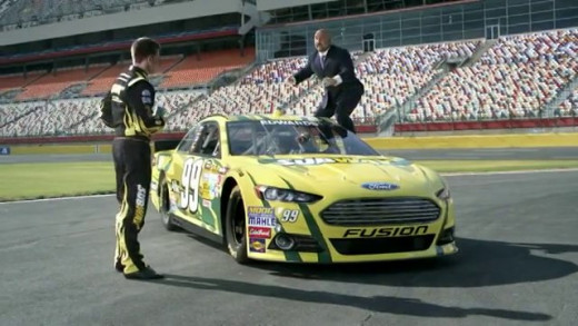 Carl Edwards and sponsor Subway have made some great TV commercials