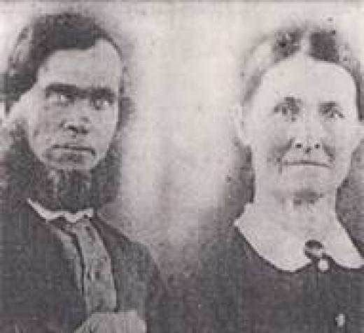 One of my ancestors. Take a gander at his eyes!