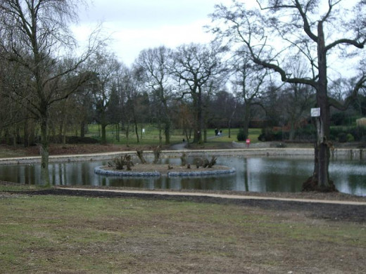 Pype Hayes Park - the scene of two brutal murders with mysterious links, even althoug they were committed 150 years apart.