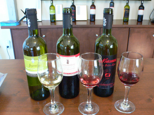 Wine tasting to determine what wines go well with food