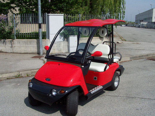 Italcar Neighborhood Electric Vehicle (NEV)