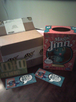 The amazing Magic Jinn game! A Hasbrow Game review for Bzzagent.com