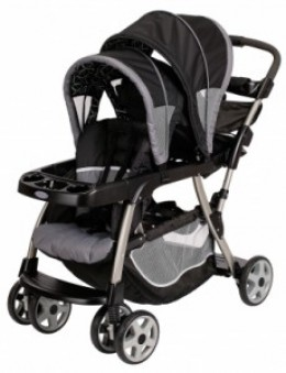 Graco Ready 2Grow Stand and Ride Stroller LX is considered to be one of the best double all terrain strollers.