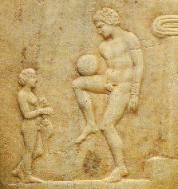 Nudey Football in Ancient Greece