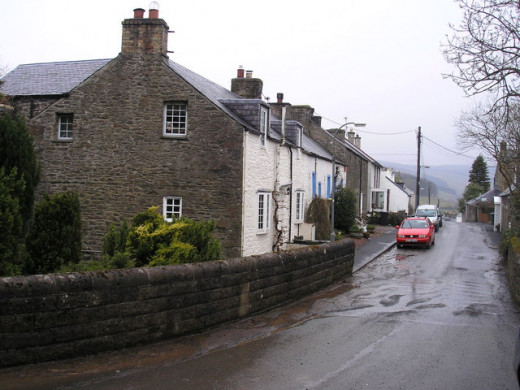 Earlston, formerly called Ercildoune, the place where Thomas the Rhymer lived.
