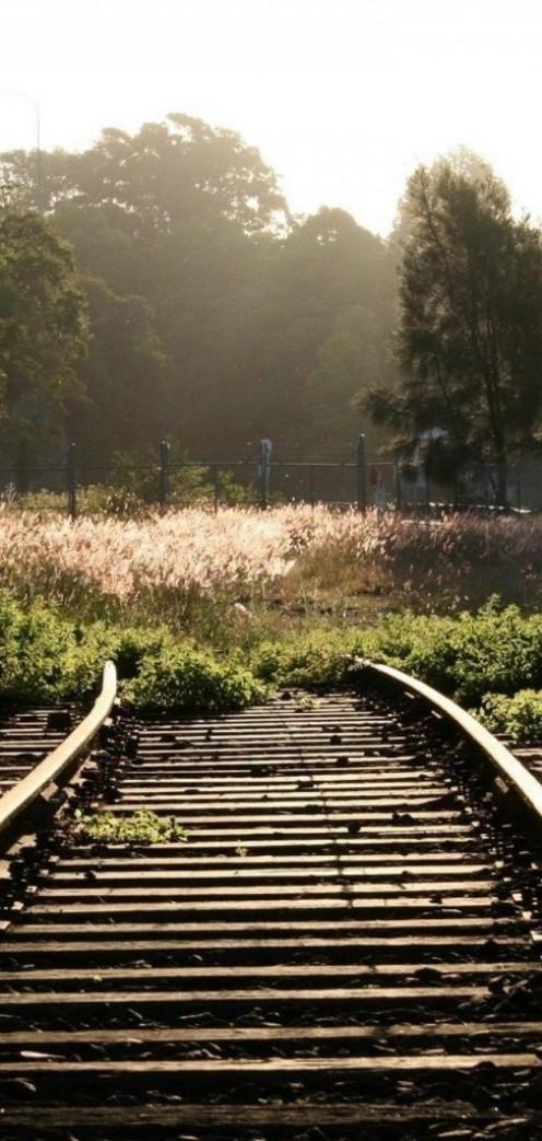 Blocked Train Tracks
