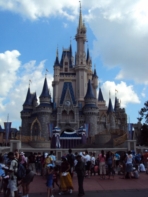 Cinderella's castle - the centerpiece of the Magic Kingdom