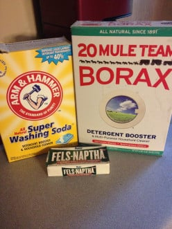 Money Saving Homemade Laundry Detergent