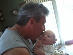 Me and my new Grandson, something I would never be able to enjoy like I do now if I were to continue to drink alcohol.