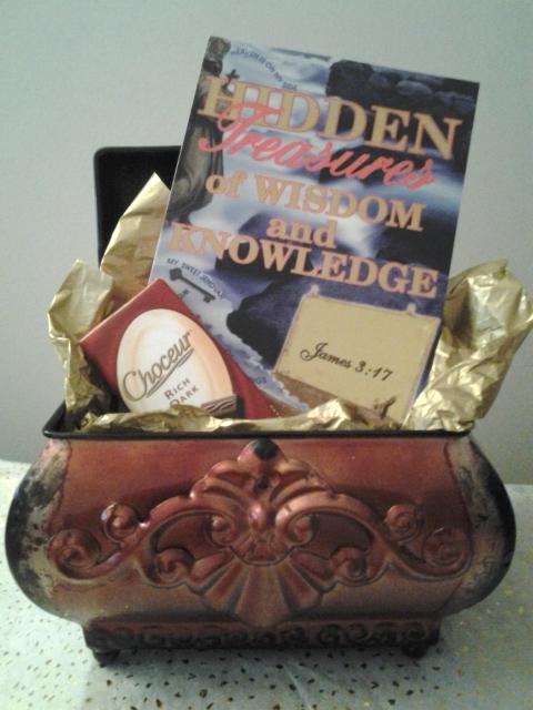 Hidden Treasures Basket
