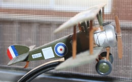 Model of a Sopwith Camel - famous British World War One Fighter.