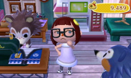 Animal Crossing New Leaf Gracie Fashion Check Ornate