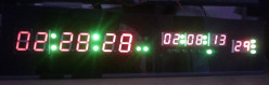 Digital Clock with Temperature Sensor DIY