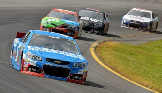 This is what Kahne needs to do in response; beat Busch in the race, not on the fender