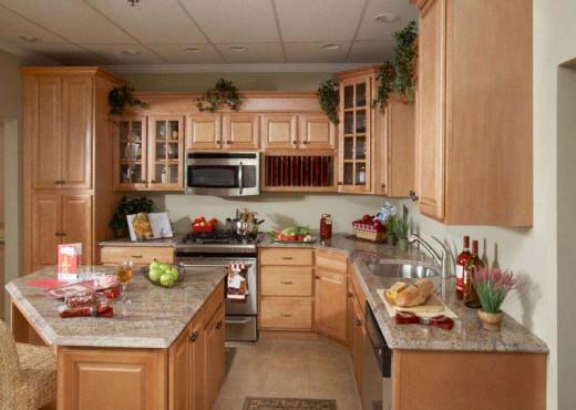 Wooden Kitchen Cupboard