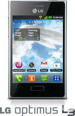 The LG Optimus L3 is a sleek looking smartphone, ideal as the first step into the Android world.