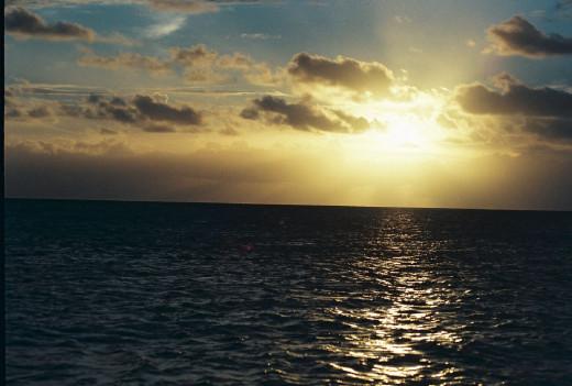 Sunset in Islamorada, near Key Largo Joy Levine ©2013