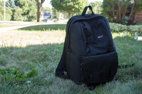 I have a laptop/SLR backpack that I love to use for traveling. It's great on airplanes.