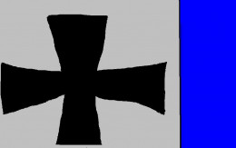 The cross used by German pilots during World War One.