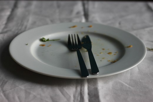 The Sign of a Good Meal
