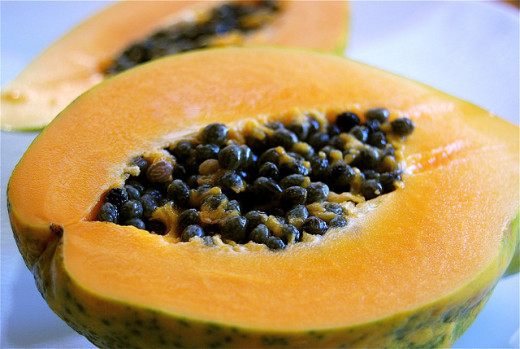 Papayas helps enhance your mood.