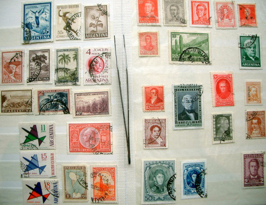 Need a hobby? Collect Stamps.
