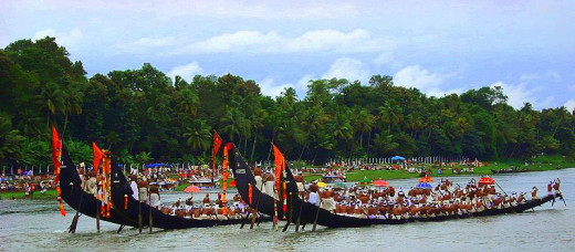 Aranmula Boat Race, Kerala, India