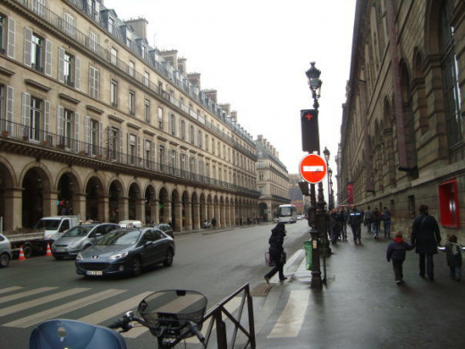 Paris Street, my photo